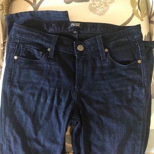 Paige Manhattan bootcut jeans dark wash 26